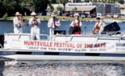 Trillium Dixie Jazz Band at Huntsville Festival of the Arts Jazz on the River